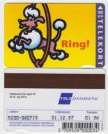 Denmark Phonecard - Superb Fine Used Phonecard 1995 Ring - Denemarken