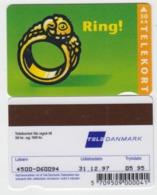 Denmark Phonecard - Superb Fine Used Phonecard 1995/96 Ring - Denemarken