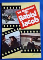 """LOUIS DE FUNES / SUZY DELAIR Im Film """"Die Abenteuer Des Rabbi Jacob"""" # NFK-Filmprogramm Von 1973 # [19-1195] - Magazines"""