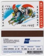 Denmark Phonecard - Superb Fine Used Phonecard 1995 Christmas - Denemarken