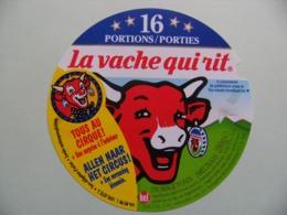 """Etiquette Fromage Fondu - Vache Qui Rit - 16 Portions Bel Pub """"Tous Au Cirque"""" Export   A Voir ! - Cheese"""