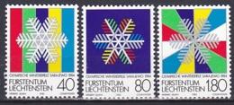 Liechtenstein/1983 - Olympic Winter Games/Olympische Winterspiele - Set - MNH - Liechtenstein