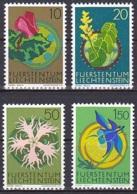 Liechtenstein/1971 - Flowers/Blumen II - Set - MNH - Liechtenstein