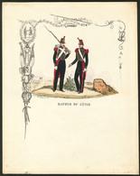 """Lettre. Lettre De Soldat. Polychrome """"Sapeur Du Génie"""", Signée """"Mondor De L'Aigle"""", Impr. Fournier, Neuve. - TB - Cartes Postales"""
