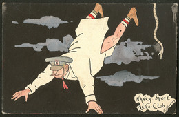 """Lettre. Illustrations à La Main. """"Nancy Sport Aéro-Club"""". CP Humoristique, Aquarelle Et Plume, Neuve. - TB - Cartes Postales"""