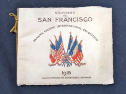 RARE San Francisco Exposition Française 1915 PANAMA PACIFIC EXPOSITION  Lafayette Rochambeau Industrie Art - Programme