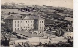 DEPT 42 : édit. ? : Saint Just Sur Loire , Le Pensionnat - Saint Just Saint Rambert