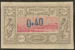 (*) No 25. - TB - French Somali Coast (1894-1967)