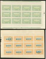 ** Nos 27, Feuille De Douze, 28 Feuille De Douze Dont Deux Ex Obl. - TB (cote Maury) - French Somali Coast (1894-1967)