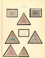 * Nos 30, 31, 32, 33 (2), 35, 36. - TB - French Somali Coast (1894-1967)