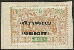 * Double Surcharge. No 30a. - TB (N°et Cote Maury) - French Somali Coast (1894-1967)