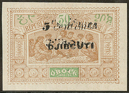 (*) Double Surcharge. No 30a. - TB (N°et Cote Maury) - French Somali Coast (1894-1967)