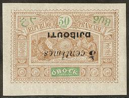 * Surcharge Renversée. No 30a. - TB - French Somali Coast (1894-1967)