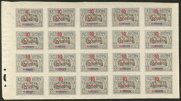 ** No 31, Bloc De 20 Ex, Dont Cinq Ex *. - TB (cote Maury) - French Somali Coast (1894-1967)
