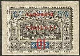 * Surcharge Renversée. No 31a. - TB - French Somali Coast (1894-1967)