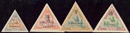 * Nos 32, 33, 35, 36. - TB - French Somali Coast (1894-1967)