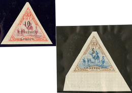 ** Nos 33, 35 Bdf, Très Frais. - TB - French Somali Coast (1894-1967)