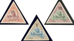 * Nos 33, 35, 36. - TB - French Somali Coast (1894-1967)