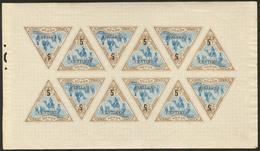 ** No 35, Feuille De Douze Ex, Charnières En Bordures, Très Frais. - TB - French Somali Coast (1894-1967)