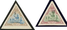 * Nos 35 Bdf, 36. - TB - French Somali Coast (1894-1967)