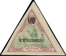 (*) Double Surcharge. No 36b, Très Frais. - TB. - R - French Somali Coast (1894-1967)