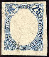 (*) Variétés. Nos 45 Centre Omis Sur Bristol, 47 Couleurs Inversées Non Dentelé. - TB - French Somali Coast (1894-1967)