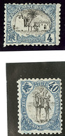 * Erreur De Couleur, Bleu Et Noir. Nos 55, 61. - TB - Côte Française Des Somalis (1894-1967)