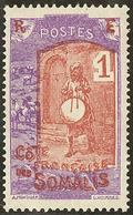 "* Surcharge ""RE"" Au Lieu De ""RF"". No 83. - TB - French Somali Coast (1894-1967)"