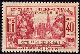 ** Double Légende. No 143. - TB - Côte Française Des Somalis (1894-1967)
