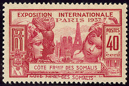 ** Double Légende. No 143. - TB - French Somali Coast (1894-1967)
