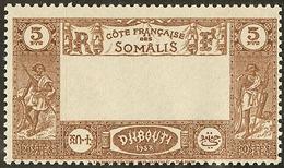 ** Centre Omis. No 167a. - TB - French Somali Coast (1894-1967)
