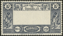 ** Centre Omis. No 168a. - TB - French Somali Coast (1894-1967)