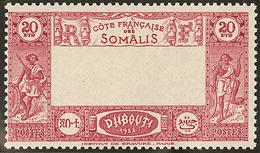 ** Centre Omis. No 169a. - TB - French Somali Coast (1894-1967)