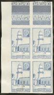 (*) Essai Non Dentelé En Bleu, Sans La Valeur. No 192, Bloc De Quatre Cdf. - TB - Côte Française Des Somalis (1894-1967)