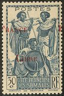 ** Surcharge à Cheval. No 212. - TB - Côte Française Des Somalis (1894-1967)