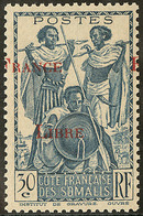 ** Surcharge à Cheval. No 212. - TB - French Somali Coast (1894-1967)