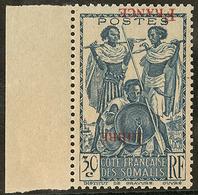 ** Surcharge Inversée Et Renversée. No 212, Bdf. - TB - Côte Française Des Somalis (1894-1967)