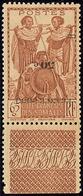 * Surcharge Renversée. No 233, Bdf, Très Frais. - TB - Côte Française Des Somalis (1894-1967)