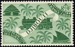 ** Sans La Valeur. No 247a. - TB. - R - French Somali Coast (1894-1967)