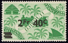 ** Barres Doublées. No 258. - TB (cote Maury) - French Somali Coast (1894-1967)