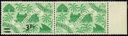 * Tenant à Non Surchargé. No 259, En Paire Bdf. - TB - Côte Française Des Somalis (1894-1967)