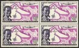 ** Poste Aérienne. No 25, Bloc De Quatre. - TB - French Somali Coast (1894-1967)