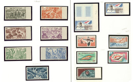** Poste Aérienne. Collection. 1946-1966. - TB (cote Maury) - French Somali Coast (1894-1967)