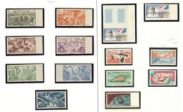 ** Poste Aérienne. Collection. 1946-1966. - TB (cote Maury) - Côte Française Des Somalis (1894-1967)