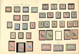 * Collection. 1902-1967 (Poste, PA, Taxe, BF), Quasiment Complète Dont France-Libre, Des Ex **. - TB - French Somali Coast (1894-1967)