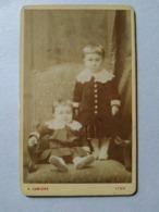 Photographie CDV A. LUMIÈRE - Vers 1875 -  Frères Leriche, Lyon - BE - Ancianas (antes De 1900)