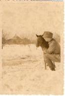 Foto 2. WK - Foto Soldat Mit Fohlen - Winter In Russland - Fotografie