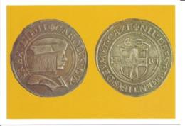"""CPM Monnaie """" TESTON En Argent Frappé à Turin """" - Monnaies (représentations)"""