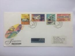 Singapore 1997 Air Mail Transport Definitives FDC - Singapur (1959-...)