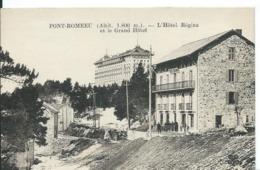 FONT-ROMEEU     (  PYRÉNÉES ORIENTALES )   L 'HÔTEL REGINA ET LE GRAND HÔTEL - Autres Communes